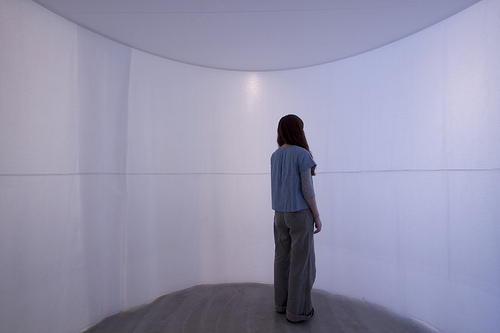 "Maki Ueda, ""Olfactoscape"" (2012) Installation view, V2, Rotterdam Photo: Jan Sprij"